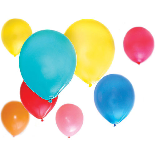 White Balloon, 12in, 1ct Image #2