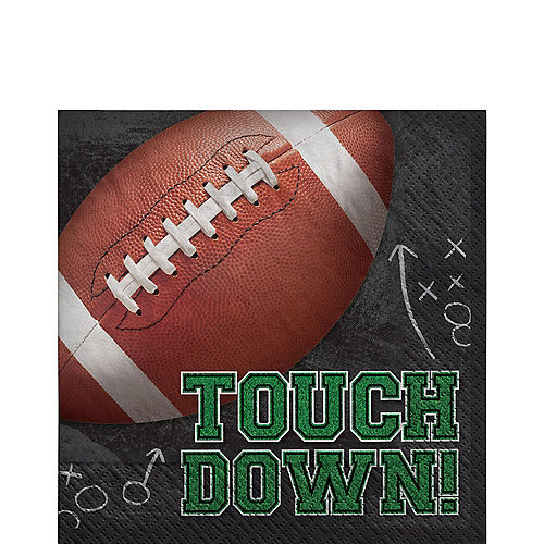 Tailgates & Touchdowns Paper Lunch Napkins, 6.5in, 125ct Image #1