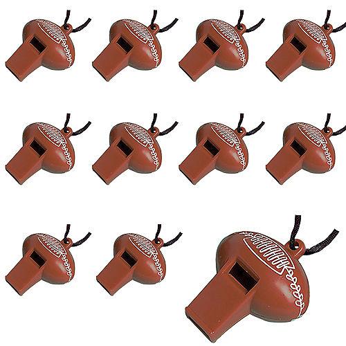 Football Whistles, 12ct Image #1