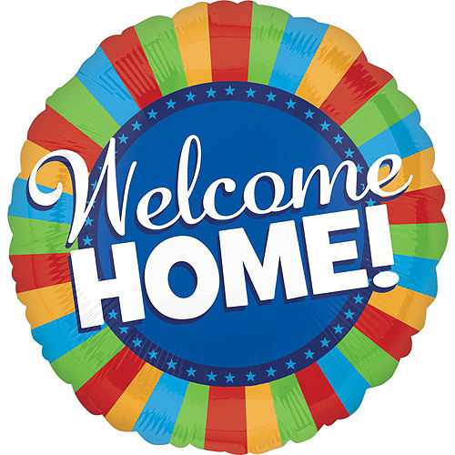 Multicolor Welcome Home Deluxe Balloon Bouquet, 9pc Image #5