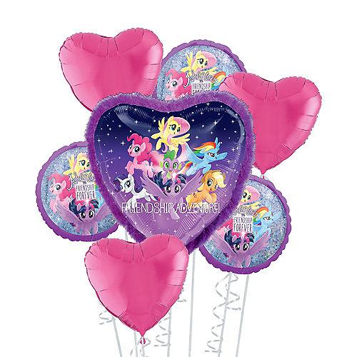 My Little Pony Friendship Adventure Deluxe Balloon Bouquet, 7pc Image #1