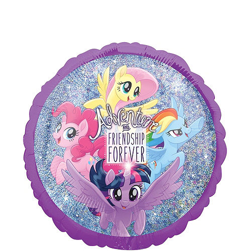 My Little Pony Friendship Adventure Deluxe Balloon Bouquet, 7pc Image #3