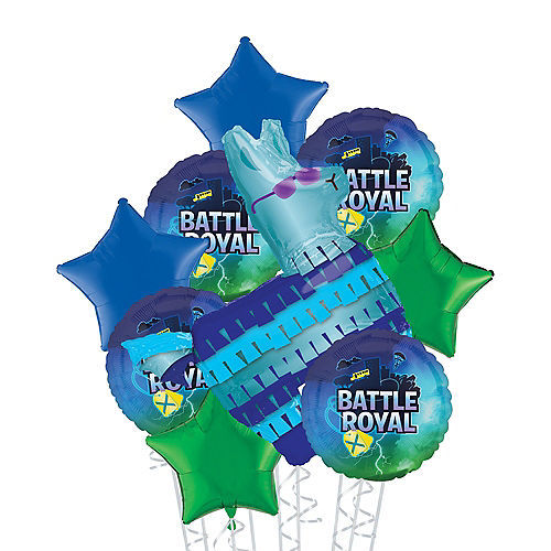 Battle Royal Deluxe Balloon Bouquet, 8pc Image #1