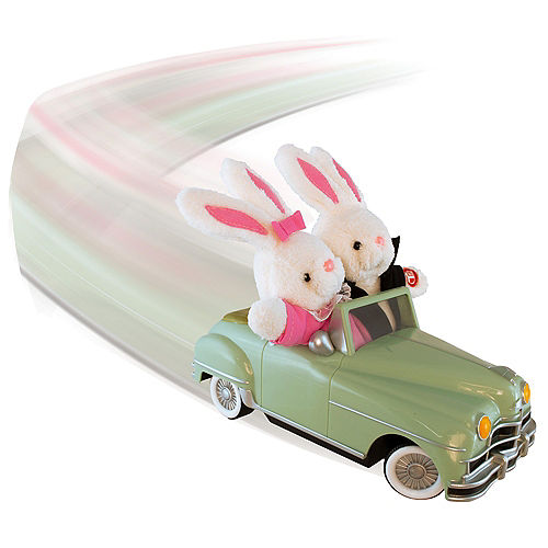 Animated Easter Bunny Convertible Car Image #3