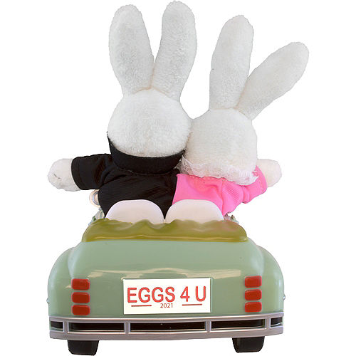 Animated Easter Bunny Convertible Car Image #4