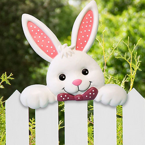 Easter Bunny Fence Topper Image #1