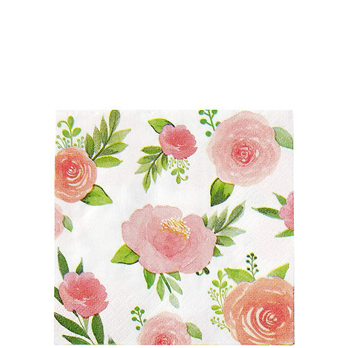 Floral Baby Tableware Kit for 8 Guests Image #4
