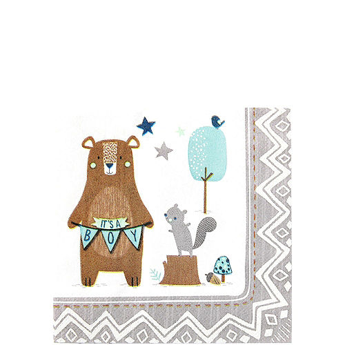Can Bearly Wait Baby Shower Tableware Kit for 8 Guests Image #4