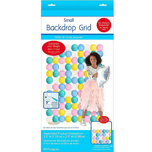 Balloon Backdrop Grid, 4ft x 3ft Image #1