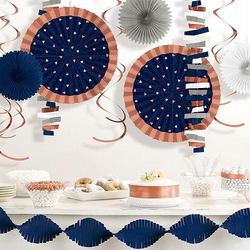 Metallic Navy Love Decorating Kit Image #4