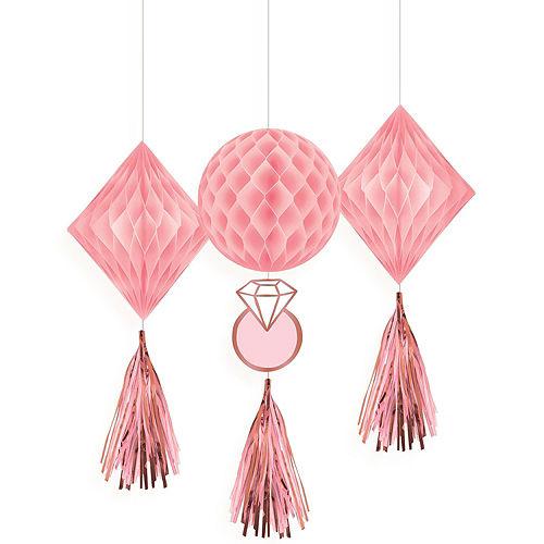 Blush & Rose Gold Bachelorette Party Decorating Kit Image #4