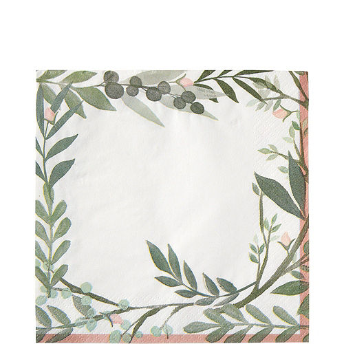Floral Greenery Wedding Tableware Kit for 8 Guests Image #5