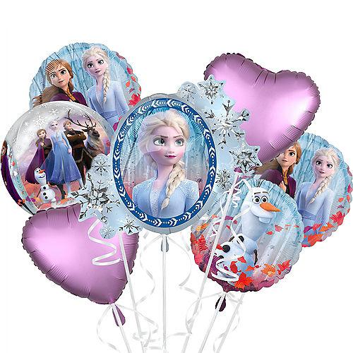 Frozen 2 Deluxe Balloon Bouquet, 8pc Image #1