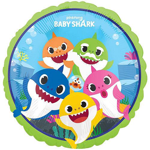 Baby Shark Deluxe Balloon Bouquet, 8pc Image #4