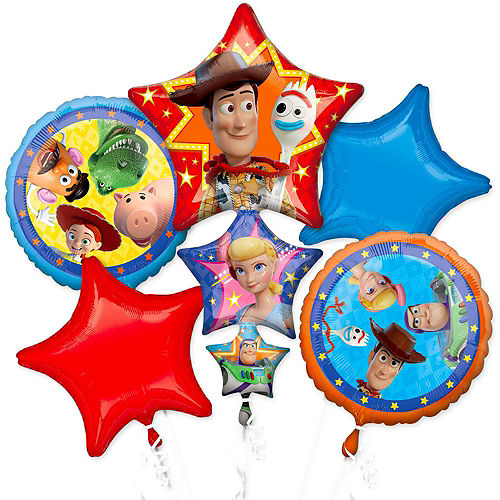 Toy Story 4 Deluxe Balloon Bouquet, 8pc Image #3