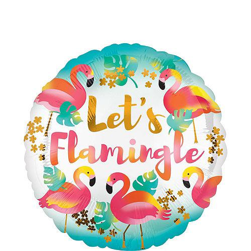 Let's Flamingo Balloon Bouquet, 9pc Image #4