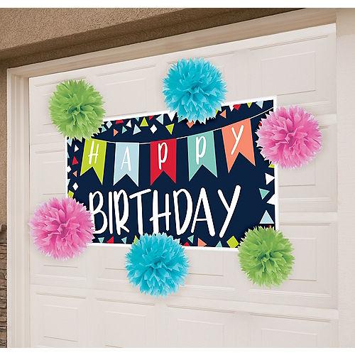 Reason to Celebrate Garage Birthday Party Decorating Kit Image #1