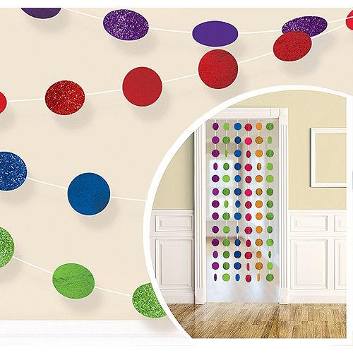 Rainbow Birthday Yard Decorating Kit Image #3