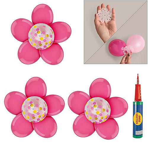Pink Flower Balloon Arrangement Kit Image #1