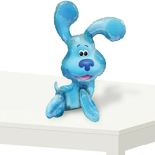 Air-Filled Sitting Blue's Clues Balloon, 22in Image #1