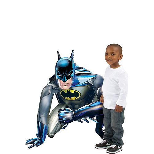 Comic Batman Deluxe Airwalker Balloon Bouquet, 8pc Image #2