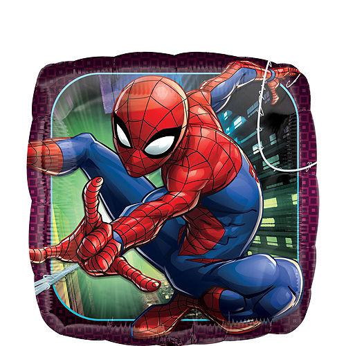 Spider-Man Deluxe Airwalker Balloon Bouquet, 8pc Image #2