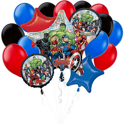 The Avengers Balloon Bouquet, 17pc - Marvel Image #1