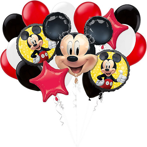 Mickey Mouse Forever Balloon Bouquet, 17pc Image #1