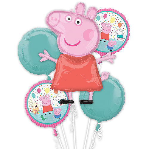 Peppa Pig Balloon Bouquet, 17pc Image #2