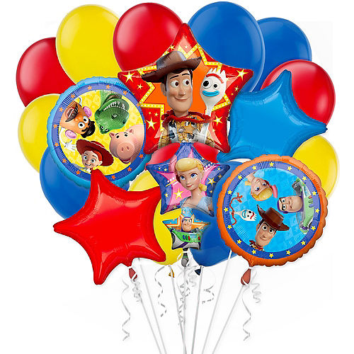 Toy Story 4 Balloon Bouquet, 17pc Image #1