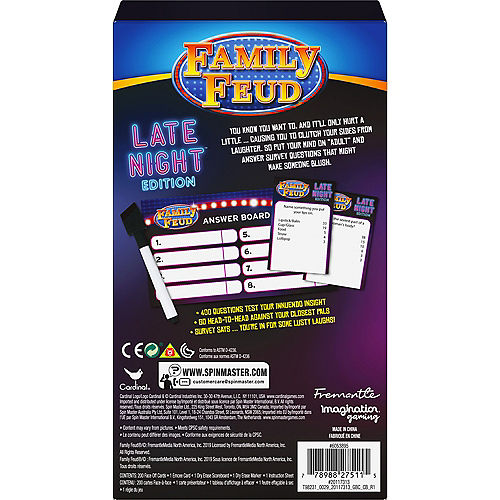 Family Feud Late Night Edition - Adult Quiz Game Image #2