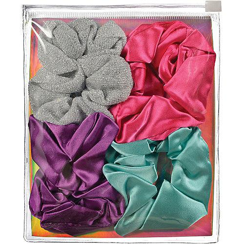 Multicolor Scrunchie Pouch, 4pc Image #1