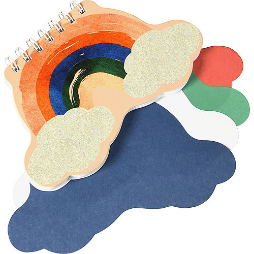 Glitter Rainbow Notebook Image #2