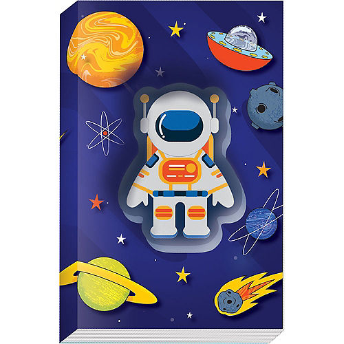 3D Squishy Astronaut Notebook Image #1