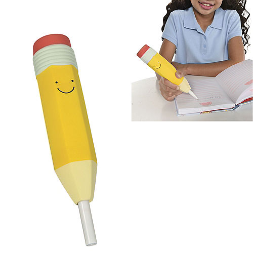 Squishy Smiley Pencil Pen Image #1