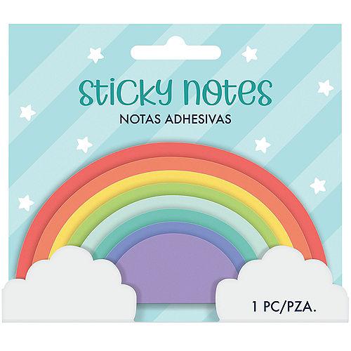 Rainbow Sticky Note Pad, 8pc Image #2
