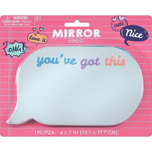 You've Got This Speech Bubble Locker Mirror Image #1