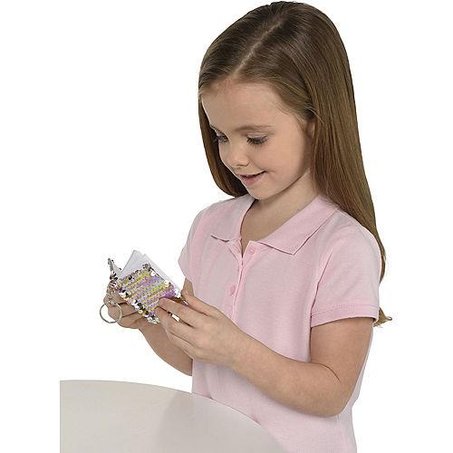 Mini Flip Sequin Notebook Keychain Image #3