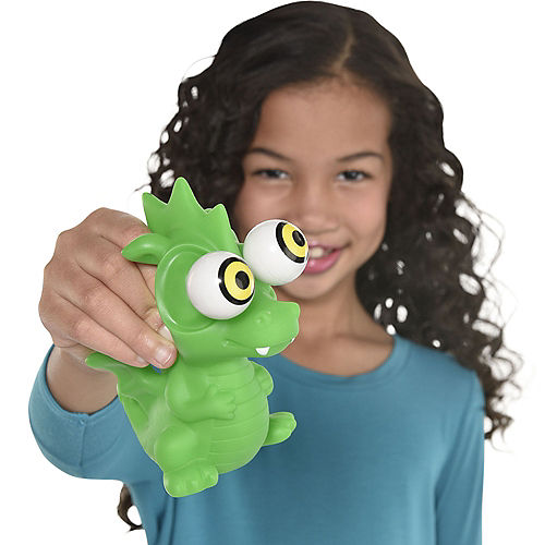 Green Squeeze Me Dragon Popperz Image #1