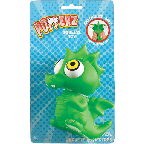 Green Squeeze Me Dragon Popperz Image #2