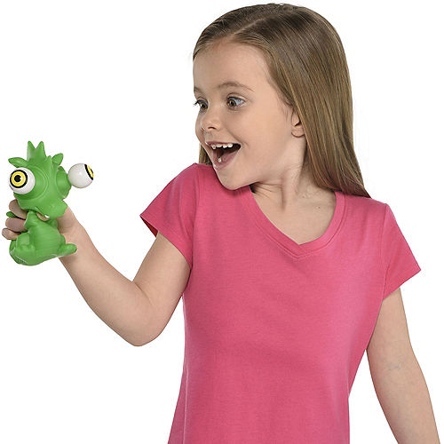 Green Squeeze Me Dragon Popperz Image #3