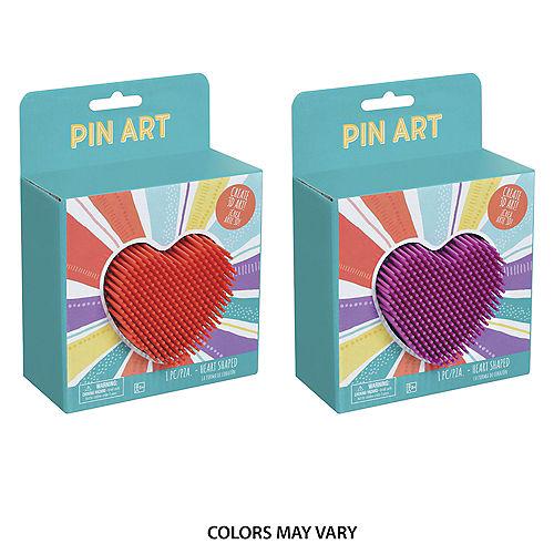 Heart-Shaped Pin Art Toy Image #1