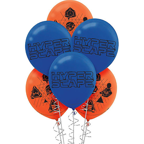 Hyper Scape Balloons, 12in, 6ct Image #1
