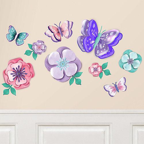 Flutter & Floral Cutouts 9ct Image #1