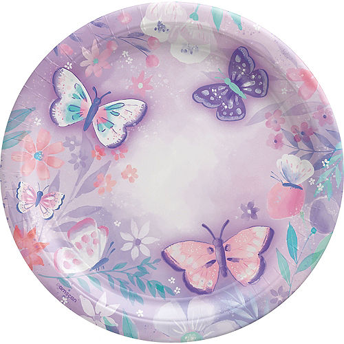 Flutter Lunch Plates, 9in, 8ct Image #1