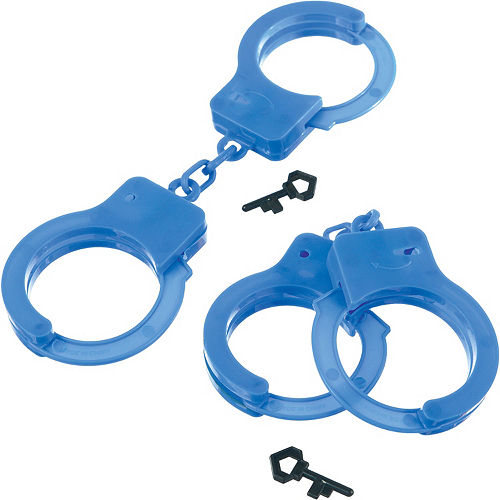 Handcuff Favors, 4ct - First Responders Image #1