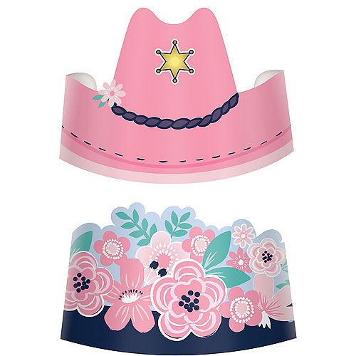 Saddle Up Paper Hats, 8ct Image #1