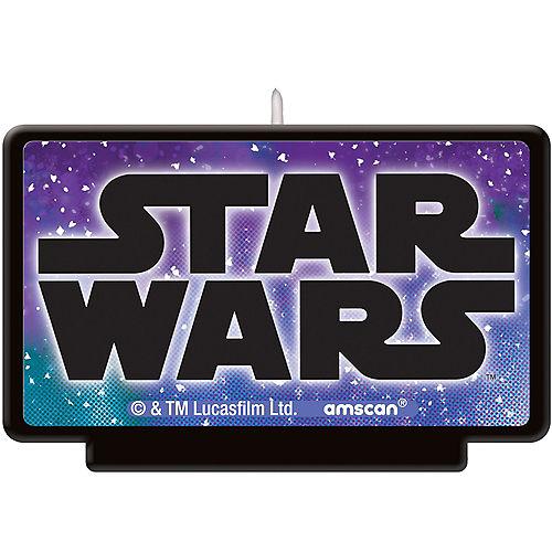 Star Wars Galaxy of Adventures Wax Birthday Candle Image #1
