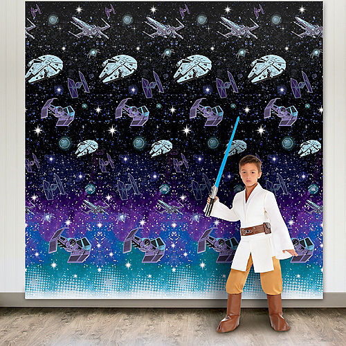 Star Wars Galaxy of Adventures Plastic Scene Setters, 8ft, 2ct Image #1