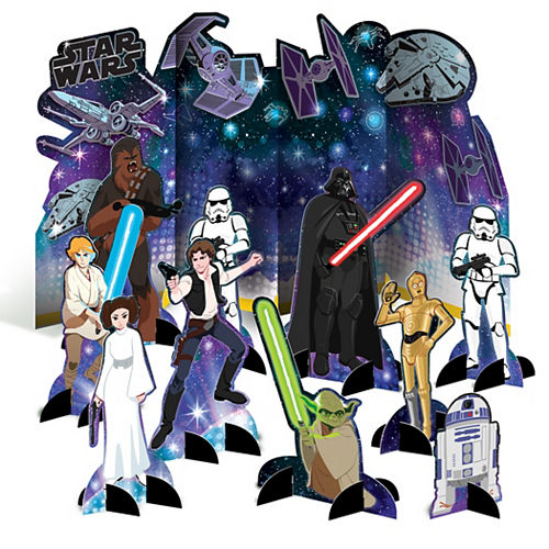 Star Wars Galaxy of Adventures Table Decorating Kit, 11pc Image #1